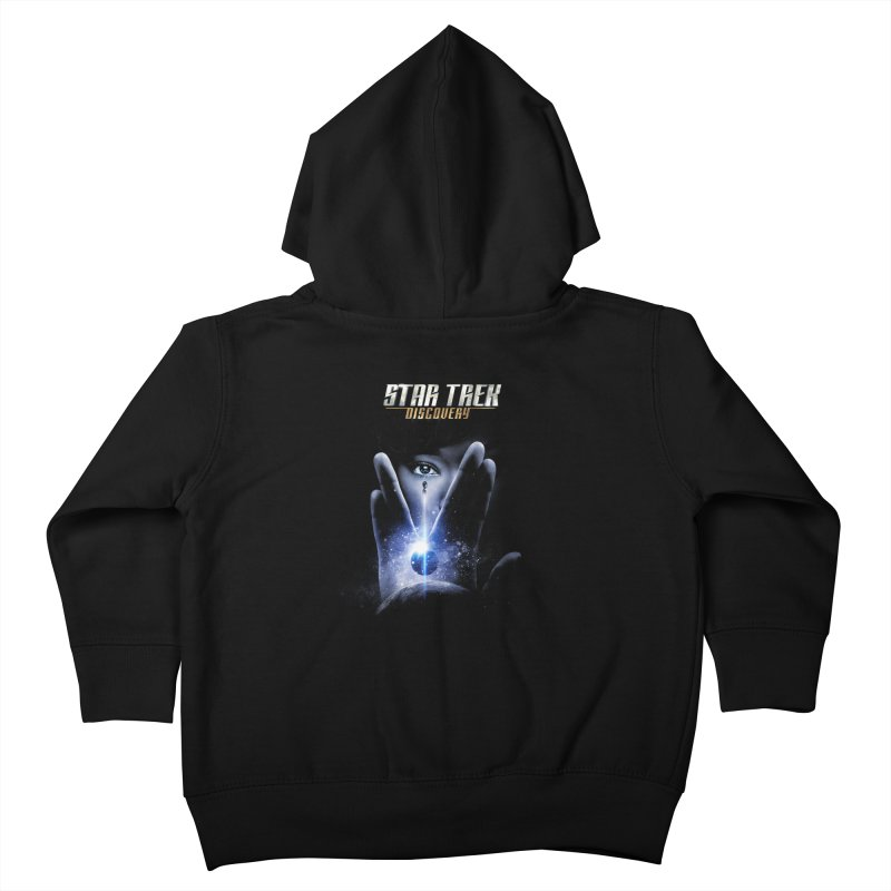 Star Trek Discovery Kids Toddler Zip-Up Hoody by To Boldly Merch