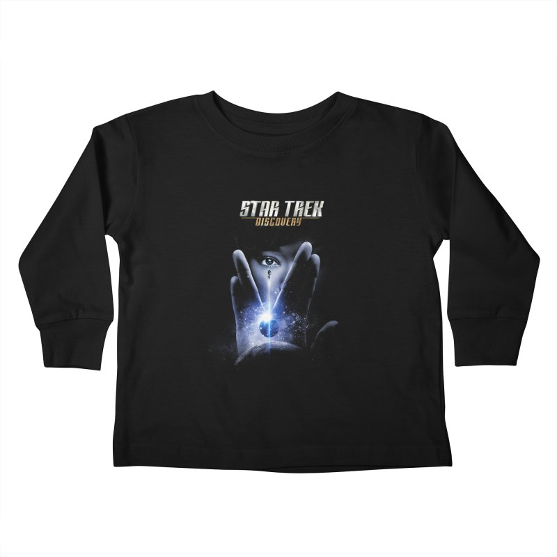 Star Trek Discovery Kids Toddler Longsleeve T-Shirt by To Boldly Merch