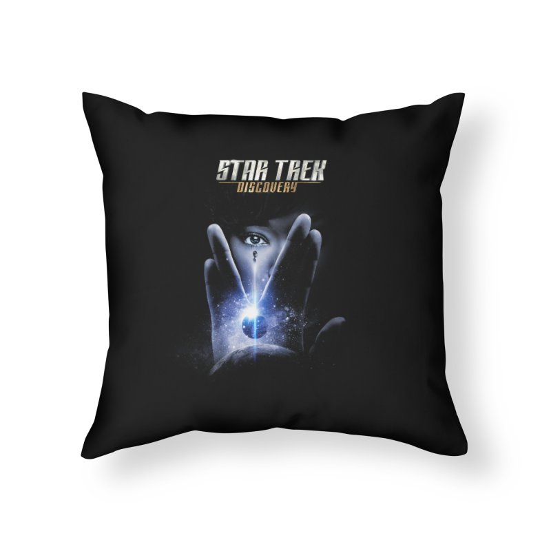 Star Trek Discovery Home Throw Pillow by To Boldly Merch