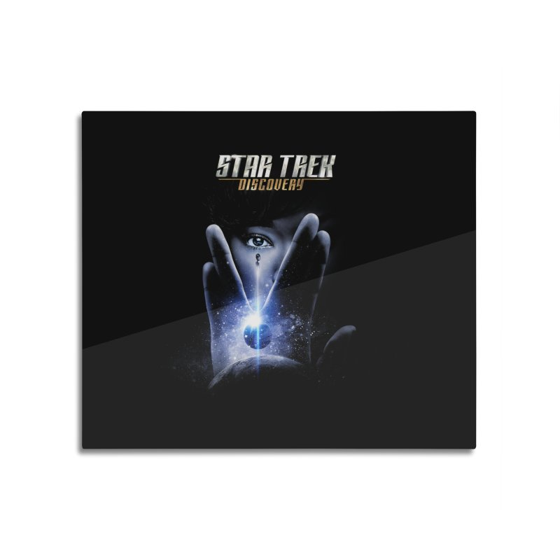 Star Trek Discovery Home Mounted Aluminum Print by To Boldly Merch