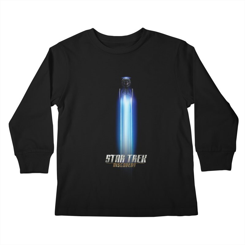 Star Trek Discovery II Kids Longsleeve T-Shirt by To Boldly Merch