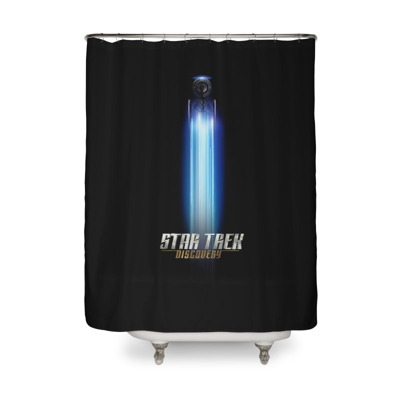Star Trek Discovery II Home Shower Curtain by To Boldly Merch