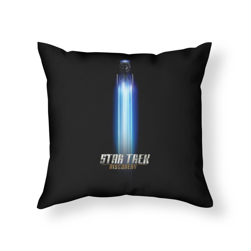 Star Trek Discovery II Home Throw Pillow by To Boldly Merch