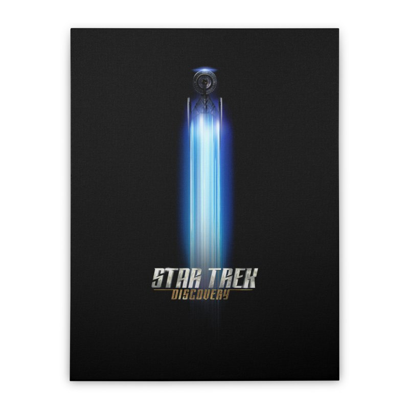 Star Trek Discovery II Home Stretched Canvas by To Boldly Merch