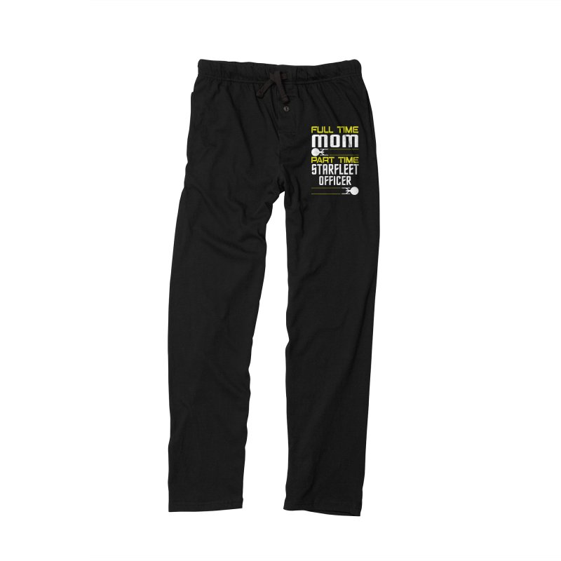 Full Time Mom, Part Time Starfleet Officer Men's Lounge Pants by To Boldly Merch