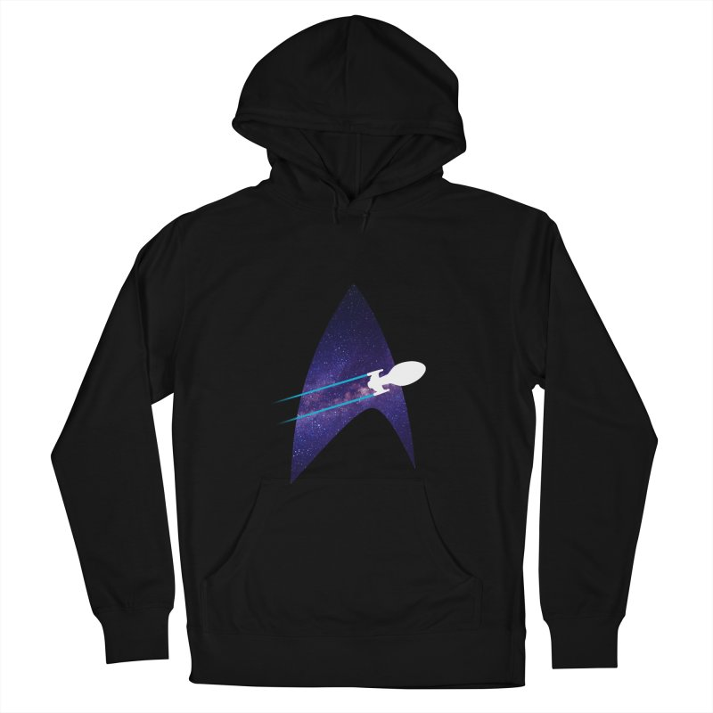 Voyager Warp Delta Women's Pullover Hoody by To Boldly Merch