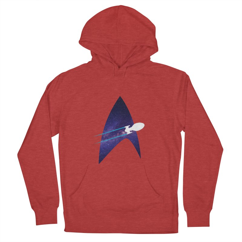 Voyager Warp Delta Men's Pullover Hoody by To Boldly Merch