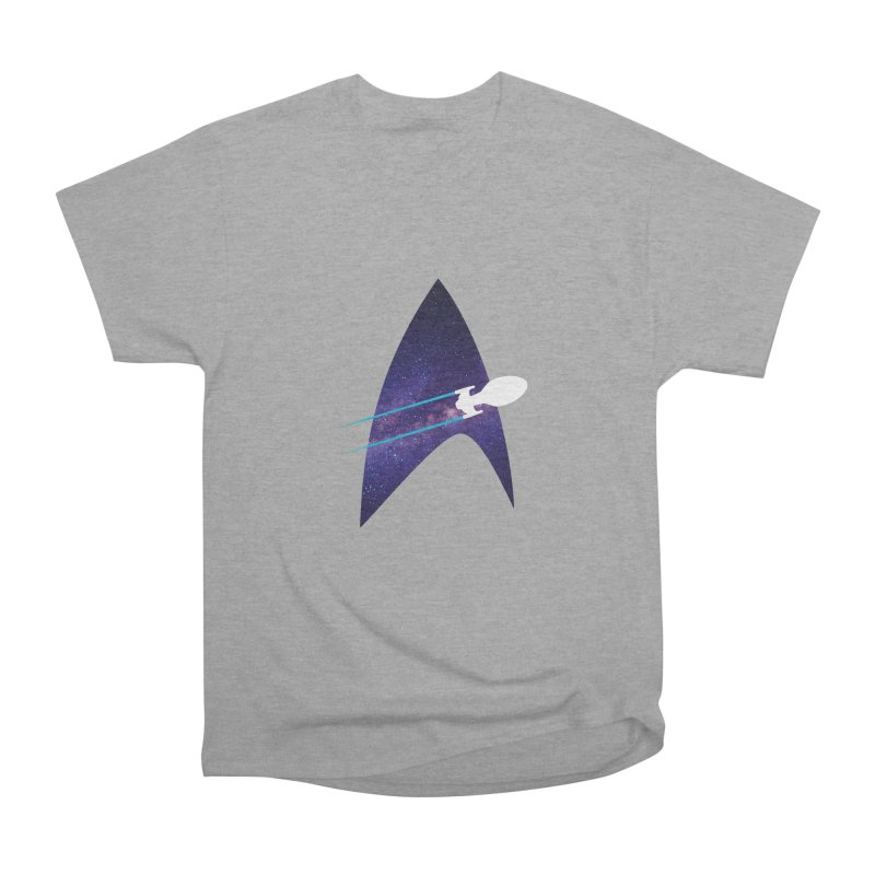 Voyager Warp Delta Women's Classic Unisex T-Shirt by To Boldly Merch