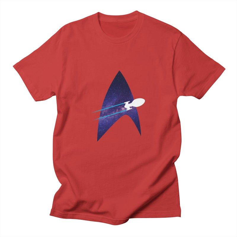 Voyager Warp Delta Men's T-Shirt by To Boldly Merch