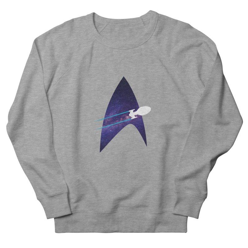 Voyager Warp Delta Men's Sweatshirt by To Boldly Merch
