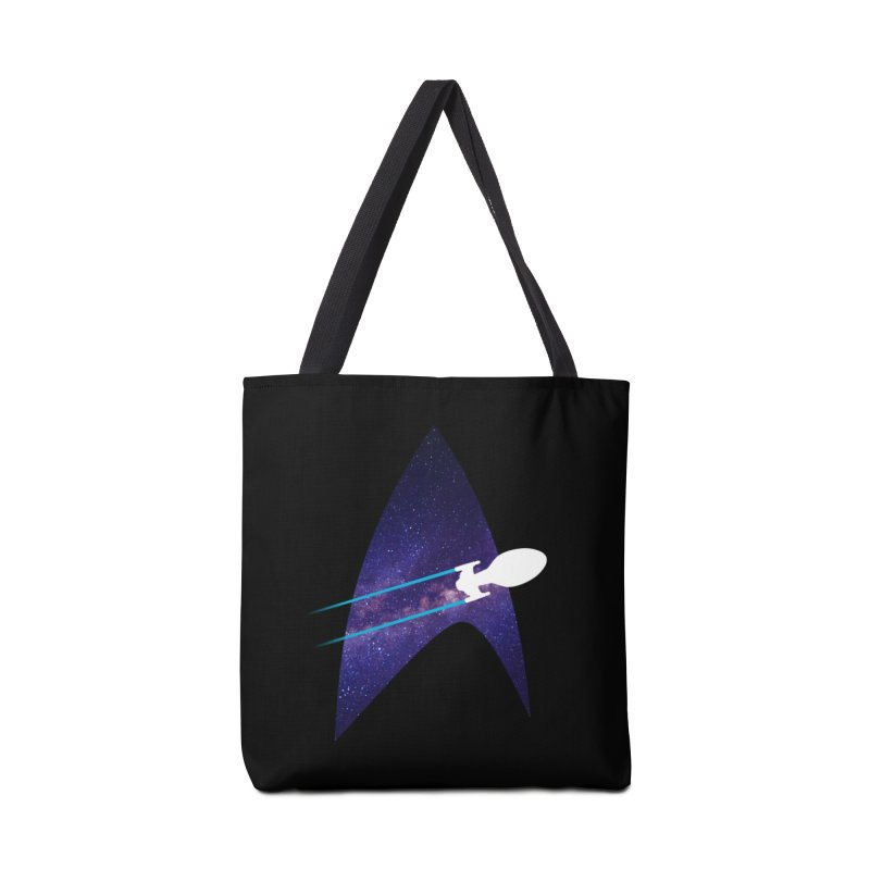 Voyager Warp Delta Accessories Bag by To Boldly Merch