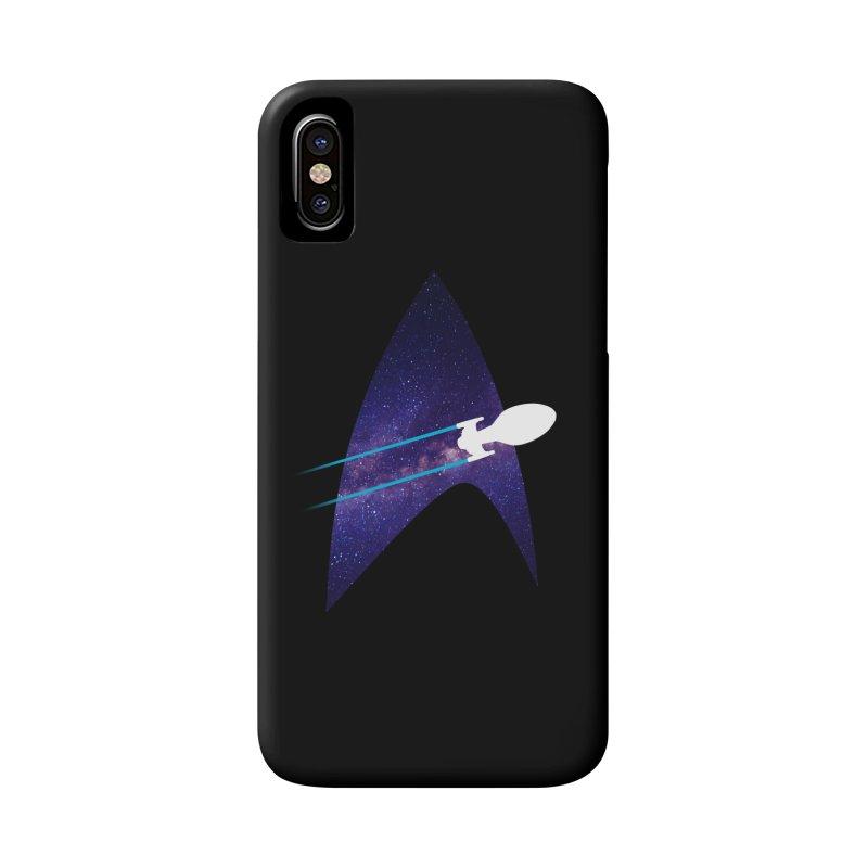 Voyager Warp Delta Accessories Phone Case by To Boldly Merch