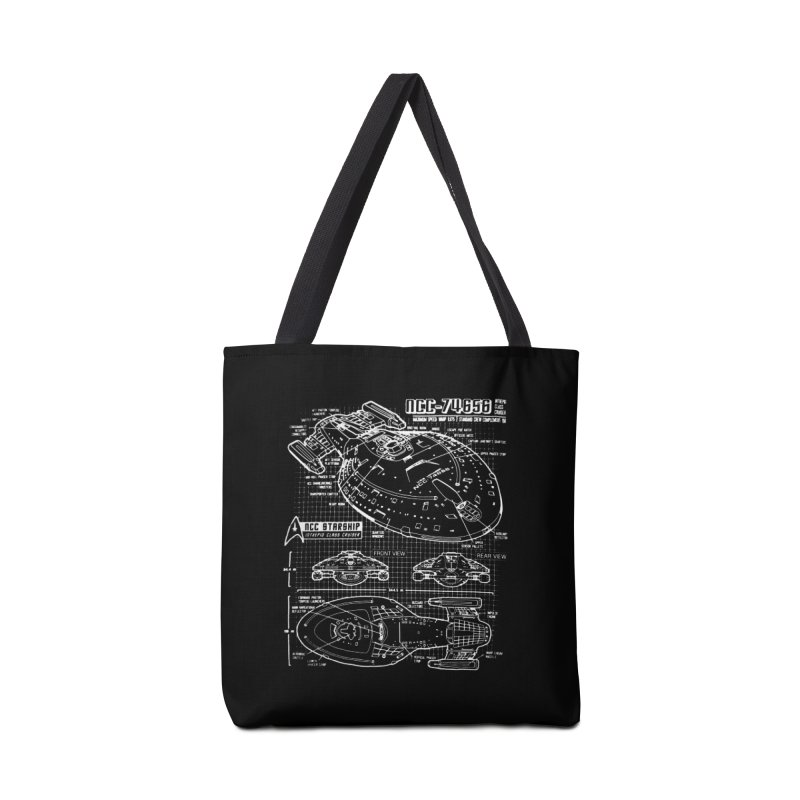 Star Trek Voyager Blueprint Accessories Bag by To Boldly Merch