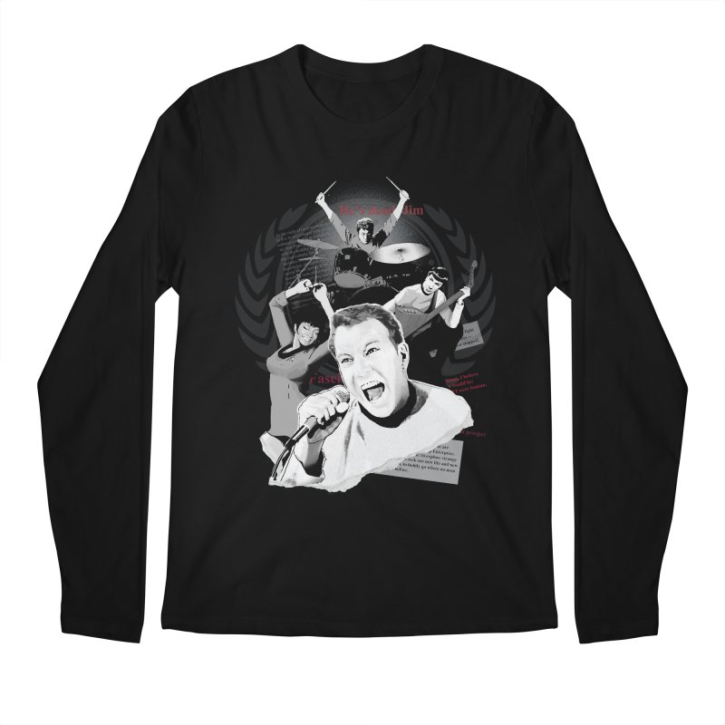 Star Trek TOS Band Men's Longsleeve T-Shirt by To Boldly Merch