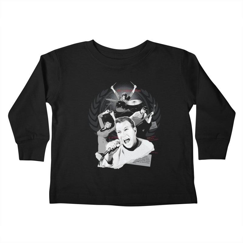 Star Trek TOS Band Kids Toddler Longsleeve T-Shirt by To Boldly Merch