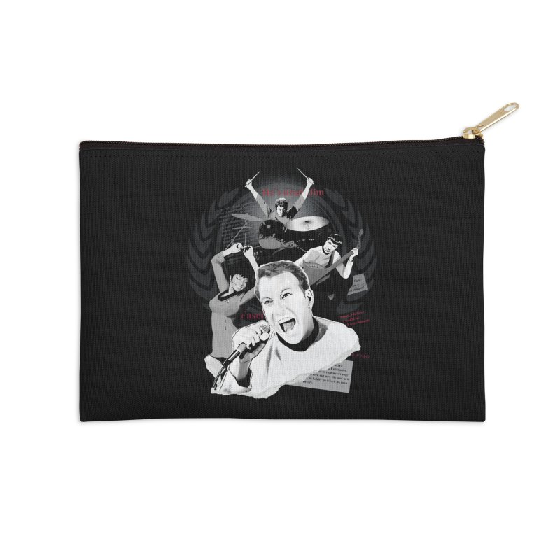 Star Trek TOS Band Accessories Zip Pouch by To Boldly Merch