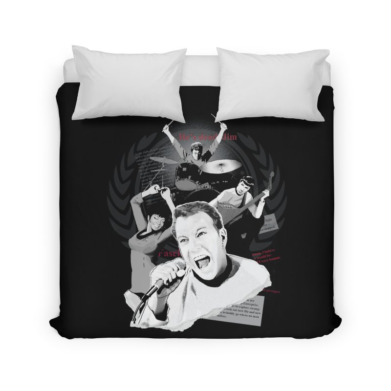 Star Trek TOS Band Home Duvet by To Boldly Merch
