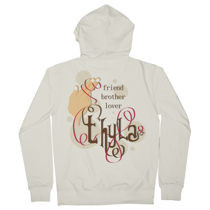 T'hy'la Men's Zip-Up Hoody by To Boldly Merch