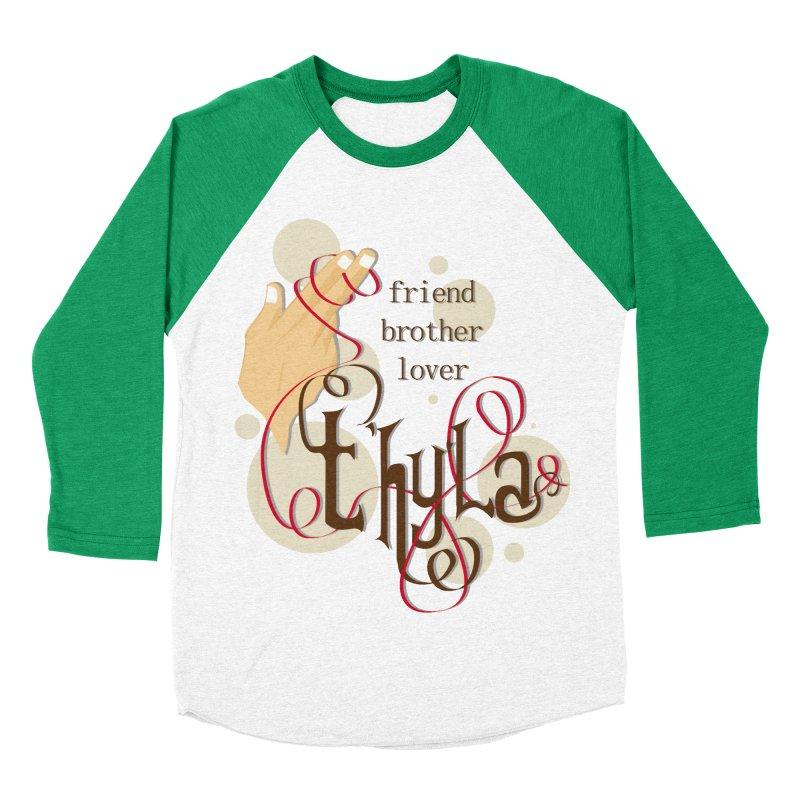 T'hy'la Men's Baseball Triblend T-Shirt by To Boldly Merch