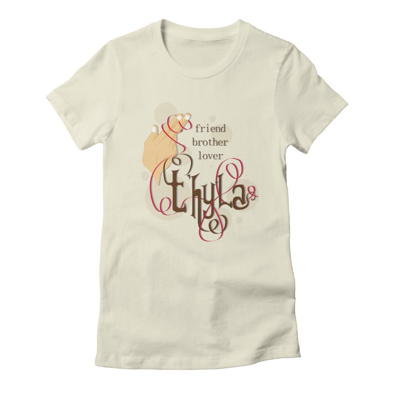 T'hy'la Women's Fitted T-Shirt by To Boldly Merch
