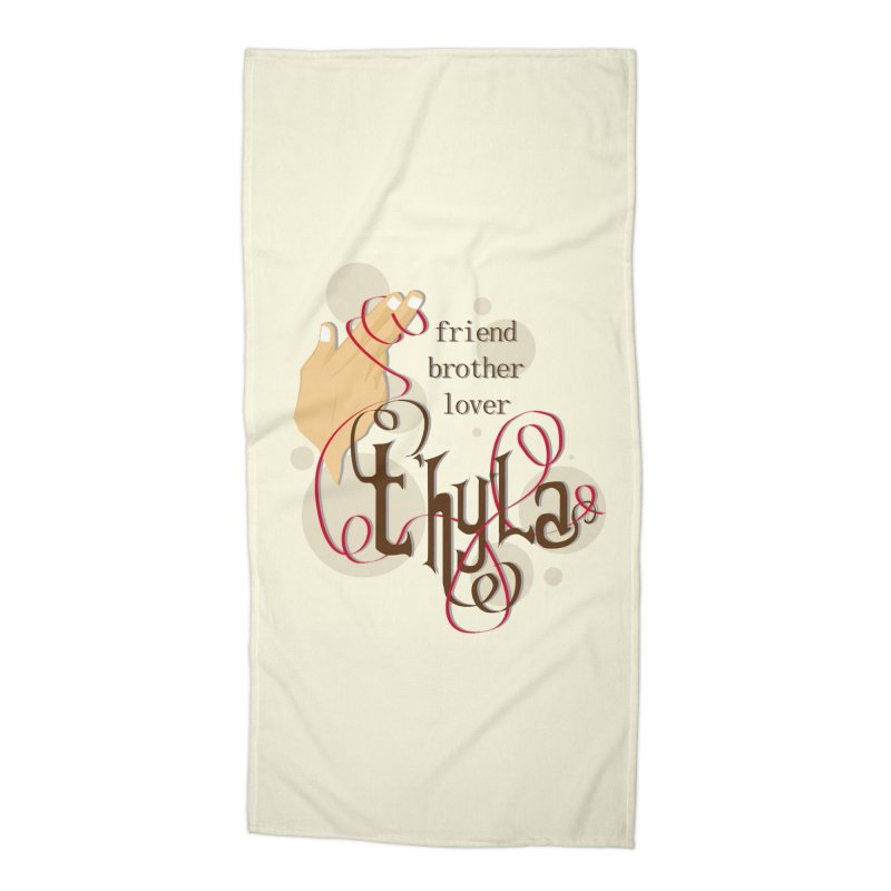 T'hy'la Accessories Beach Towel by To Boldly Merch