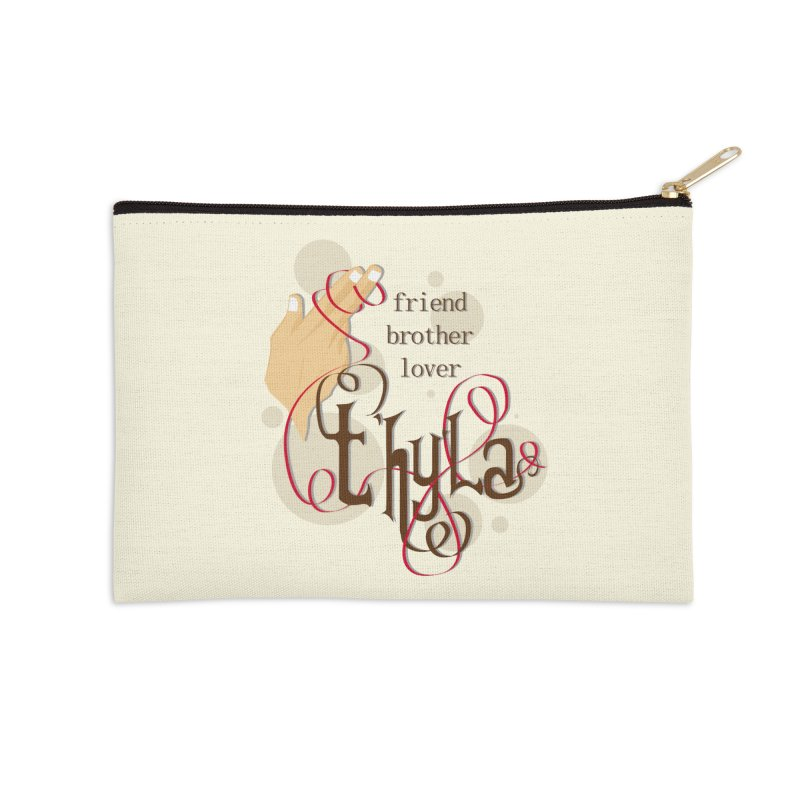 T'hy'la Accessories Zip Pouch by To Boldly Merch