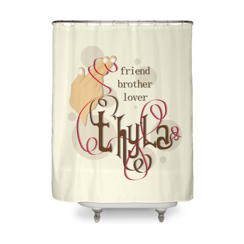 T'hy'la Home Shower Curtain by To Boldly Merch