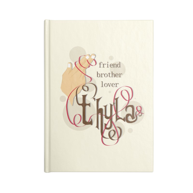 T'hy'la Accessories Notebook by To Boldly Merch