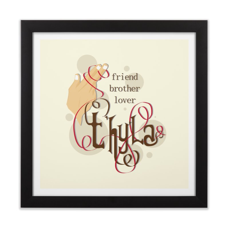 T'hy'la Home Framed Fine Art Print by To Boldly Merch