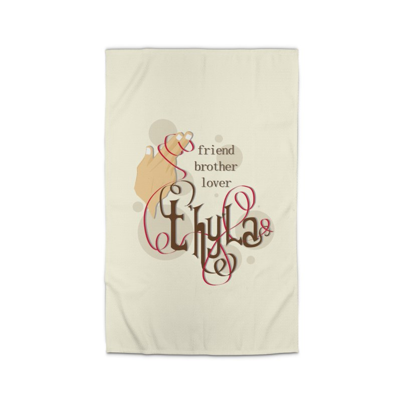 T'hy'la Home Rug by To Boldly Merch
