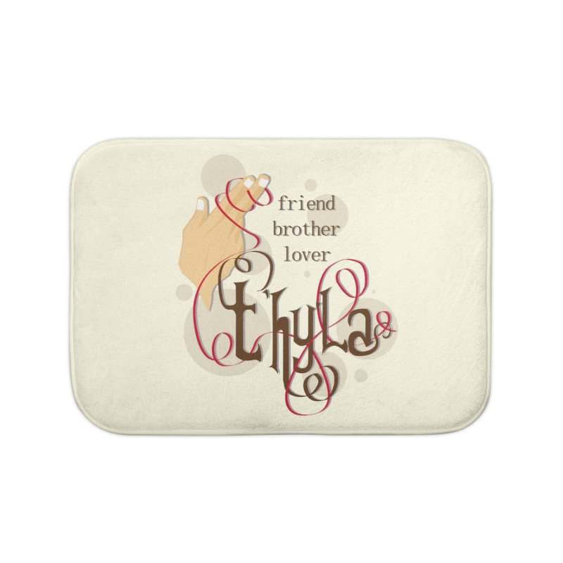 T'hy'la Home Bath Mat by To Boldly Merch