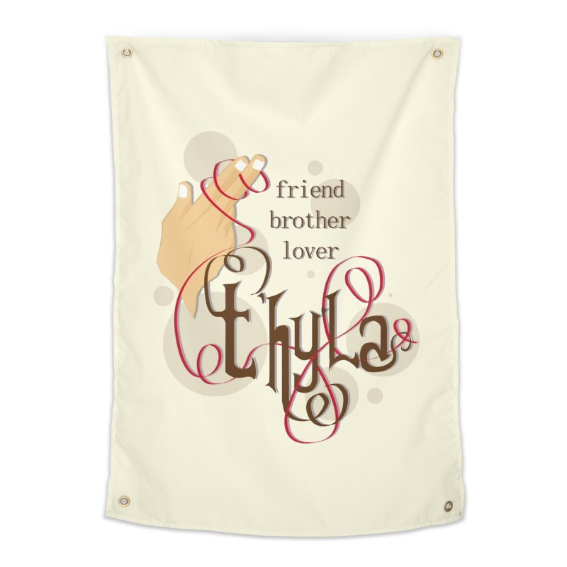 T'hy'la Home Tapestry by To Boldly Merch