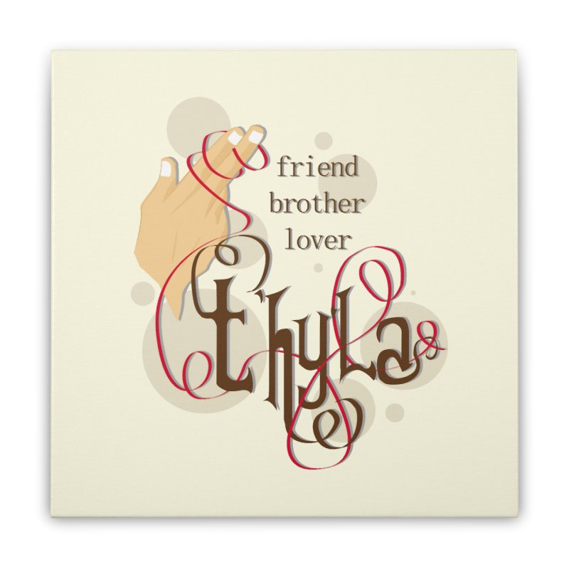 T'hy'la Home Stretched Canvas by To Boldly Merch