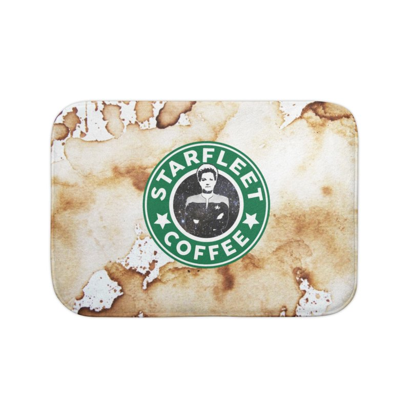 Janeway's Starfleet Coffee Home Bath Mat by To Boldly Merch