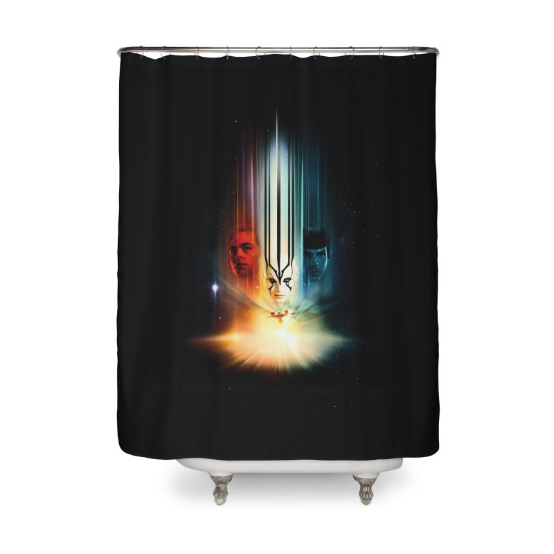 Star Trek Beyond Home Shower Curtain by To Boldly Merch