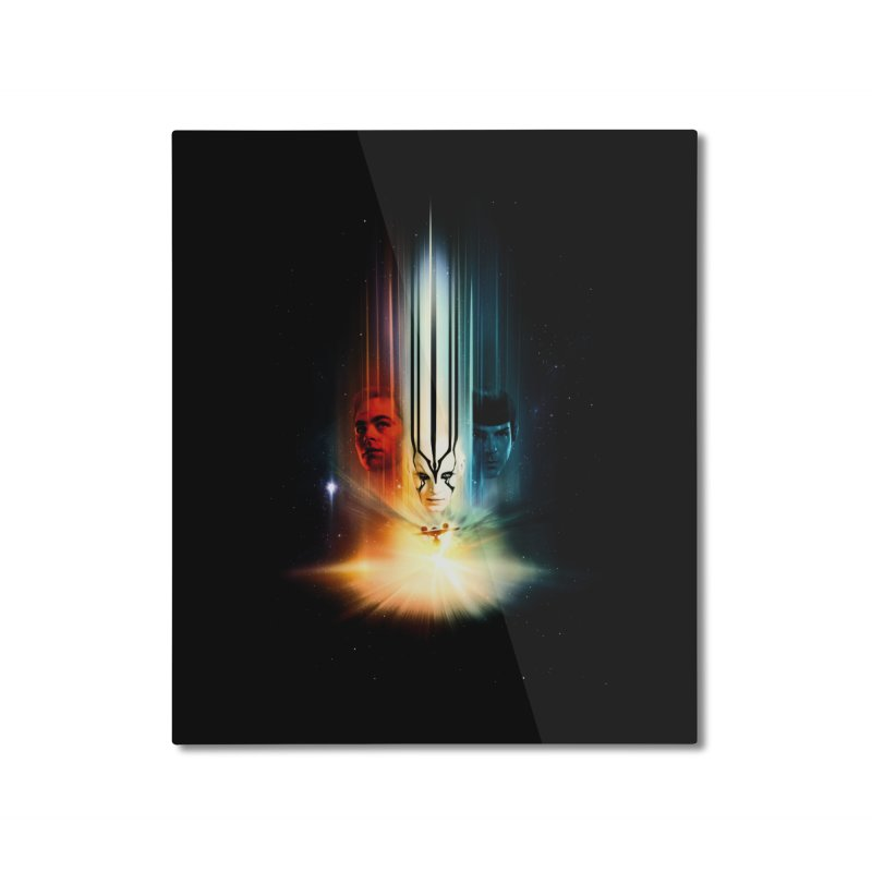 Star Trek Beyond Home Mounted Aluminum Print by To Boldly Merch