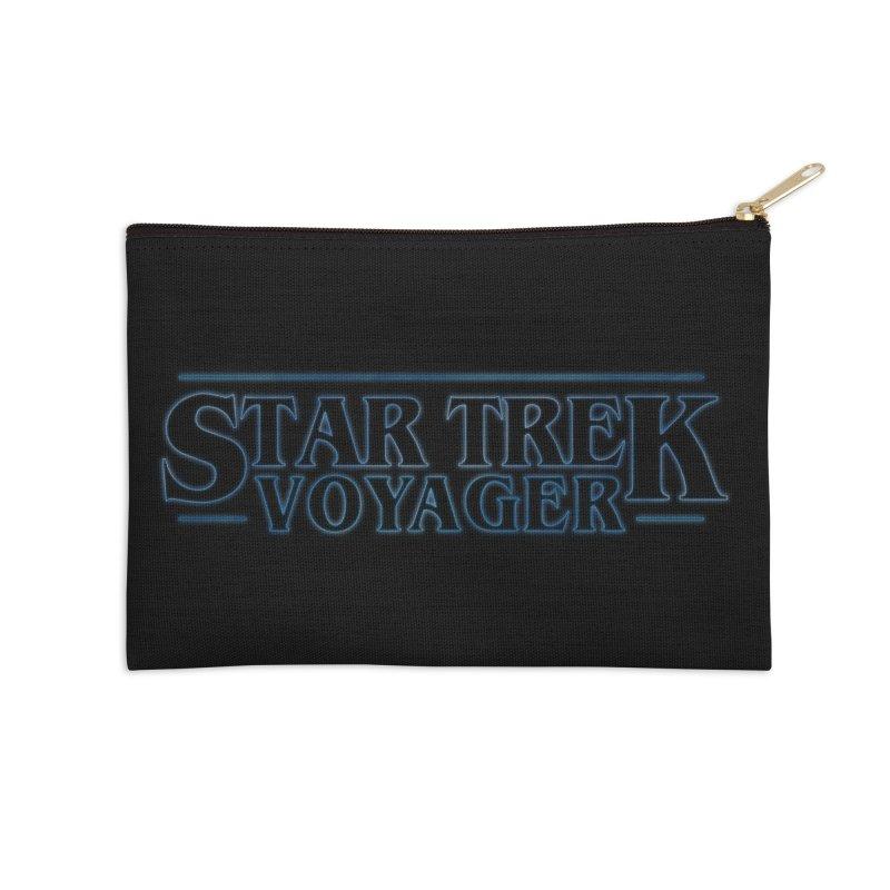 Stranger Trek Voyager Accessories Zip Pouch by To Boldly Merch