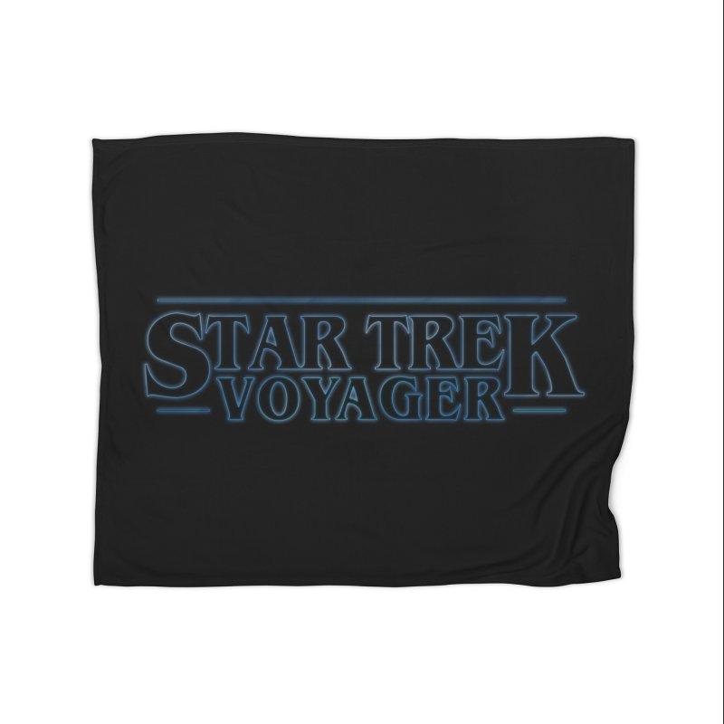 Stranger Trek Voyager Home Blanket by To Boldly Merch