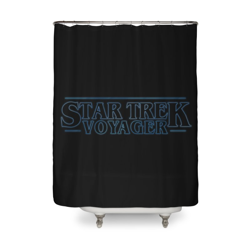 Stranger Trek Voyager Home Shower Curtain by To Boldly Merch