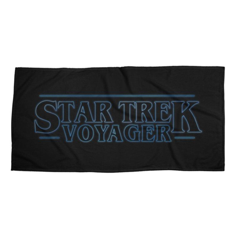 Stranger Trek Voyager Accessories Beach Towel by To Boldly Merch