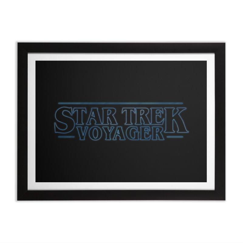 Stranger Trek Voyager Home Framed Fine Art Print by To Boldly Merch