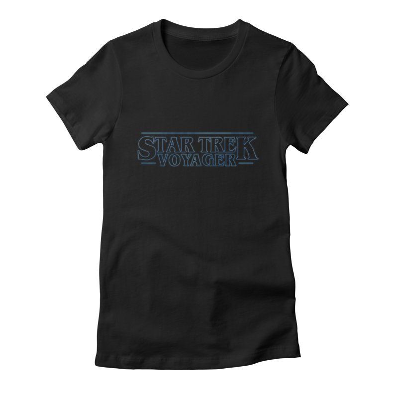 Stranger Trek Voyager Women's Fitted T-Shirt by To Boldly Merch