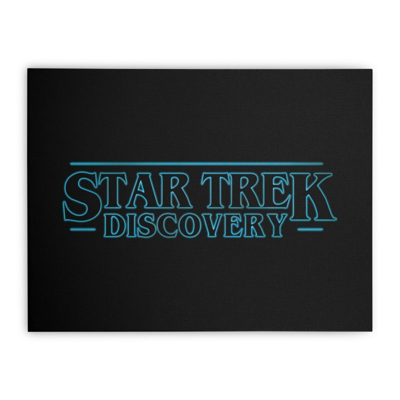 Stranger Star Trek Discovery Home Stretched Canvas by To Boldly Merch