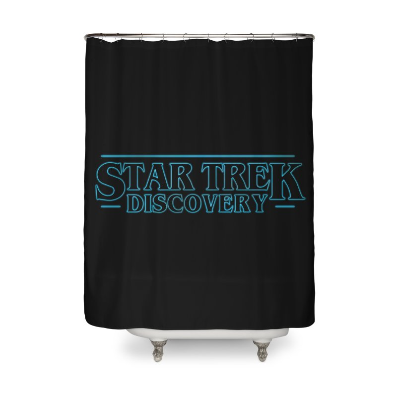 Stranger Star Trek Discovery Home Shower Curtain by To Boldly Merch