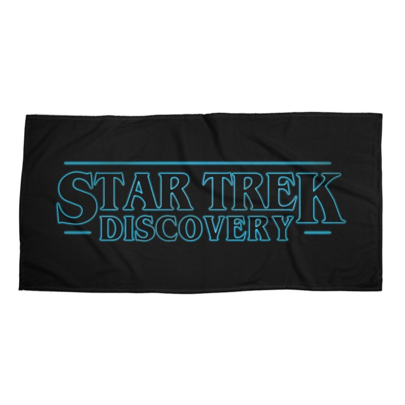 Stranger Star Trek Discovery Accessories Beach Towel by To Boldly Merch