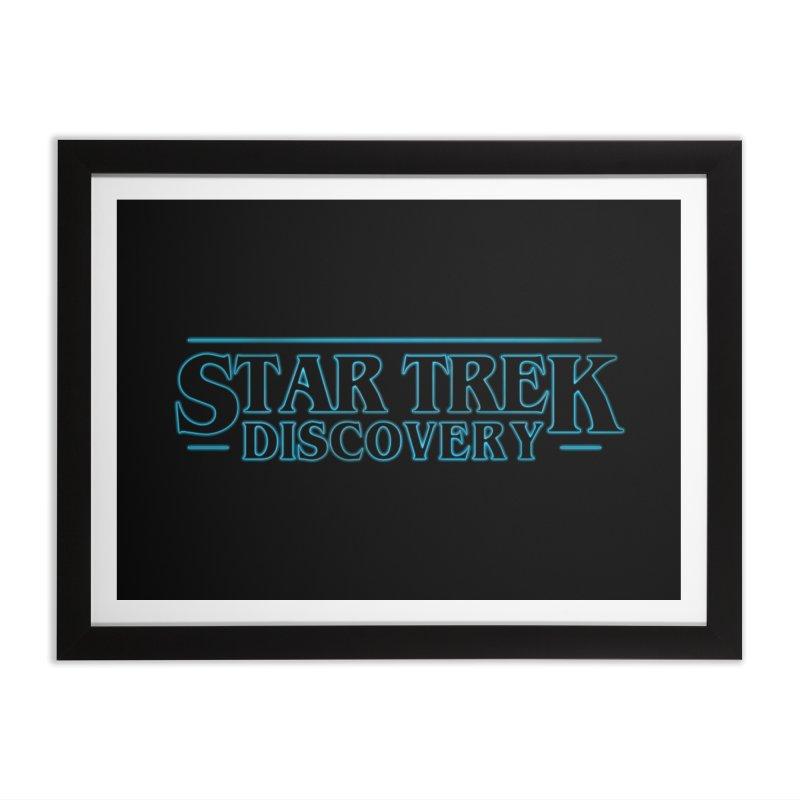 Stranger Star Trek Discovery Home Framed Fine Art Print by To Boldly Merch