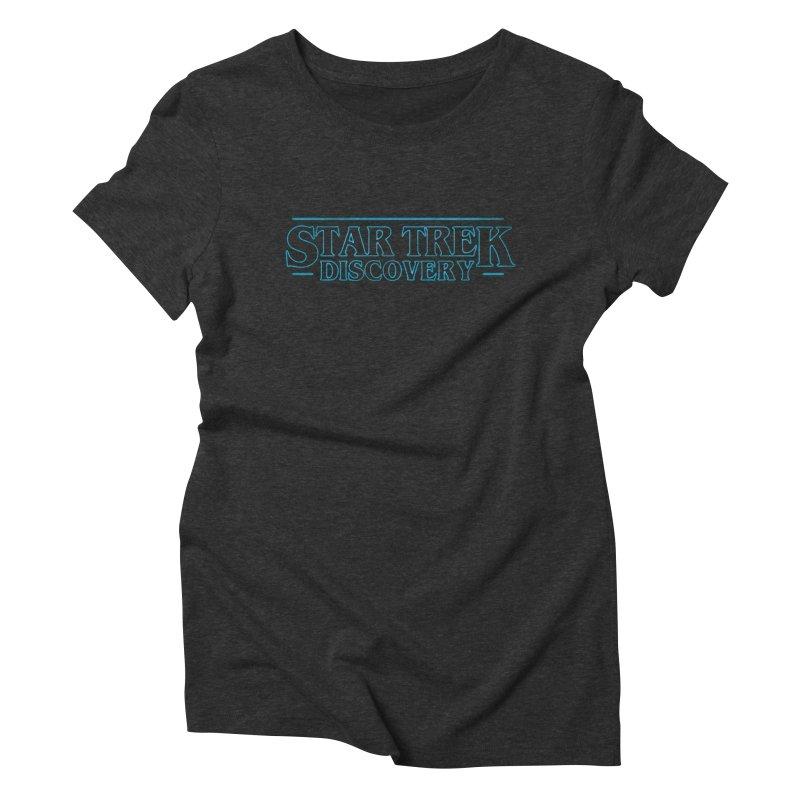 Stranger Star Trek Discovery Women's Triblend T-Shirt by To Boldly Merch