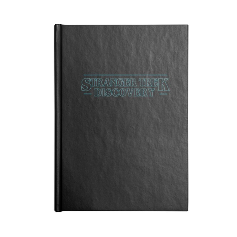 Stranger Trek Discovery Accessories Notebook by To Boldly Merch