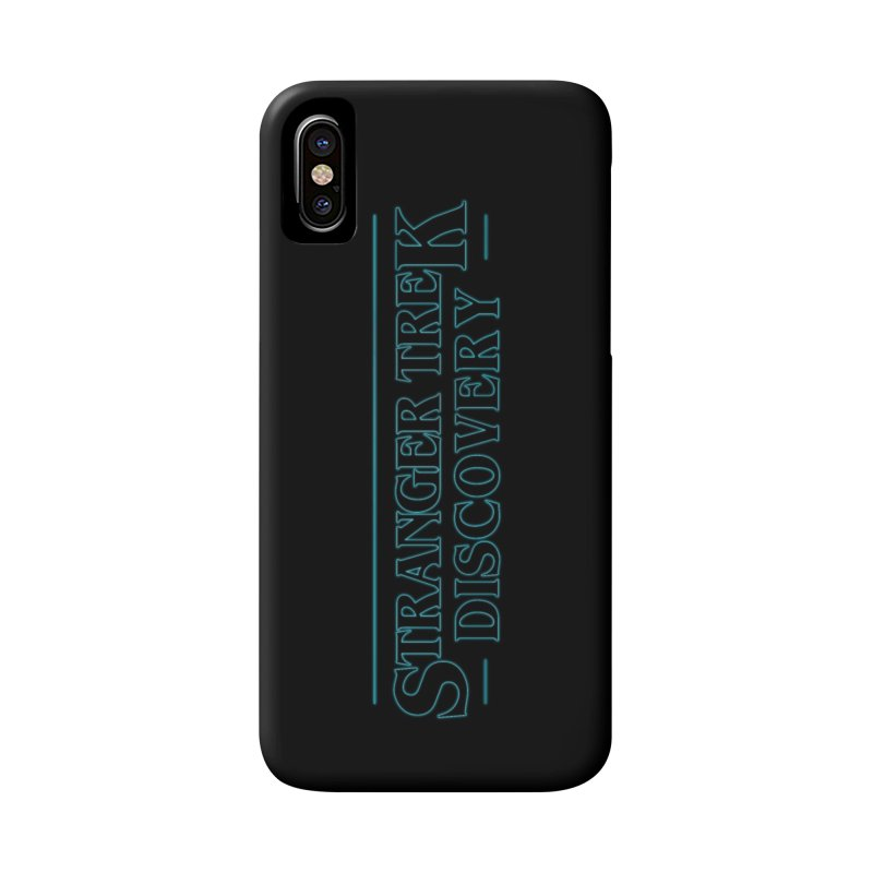 Stranger Trek Discovery Accessories Phone Case by To Boldly Merch