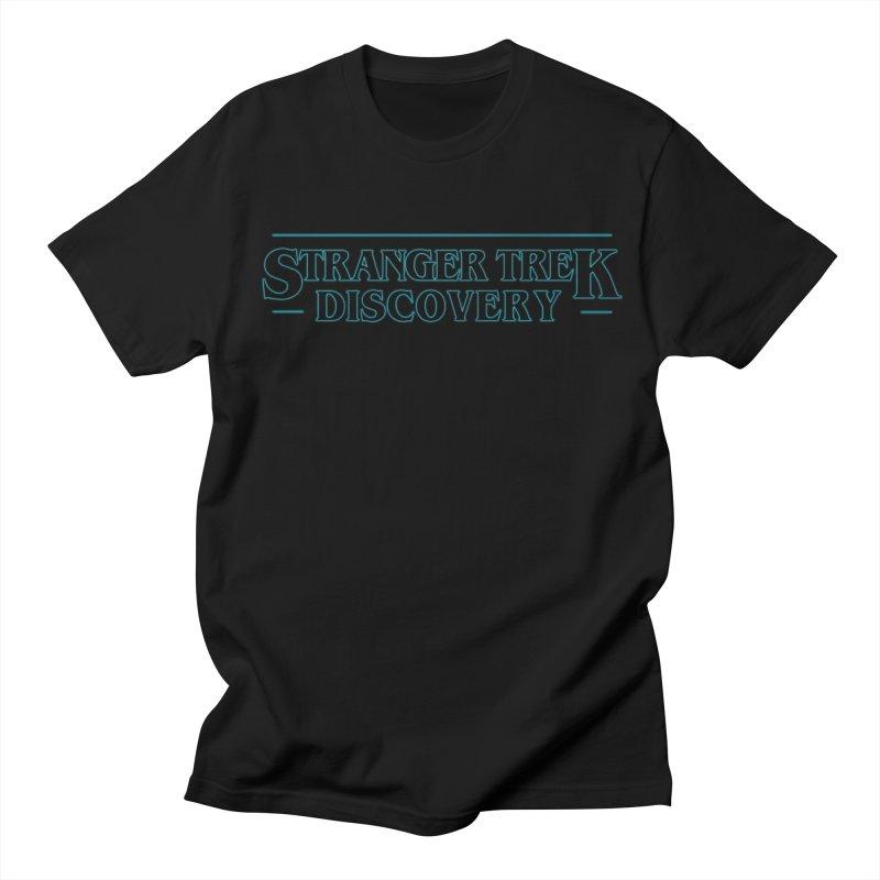 Stranger Trek Discovery Men's T-Shirt by To Boldly Merch